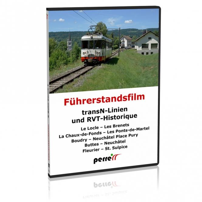 DVD - transN-Linien und RVT-Historique