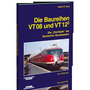 Die Baureihen VT 08 und VT 12.5
