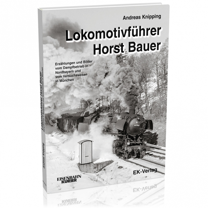 Lokomotivführer Horst Bauer