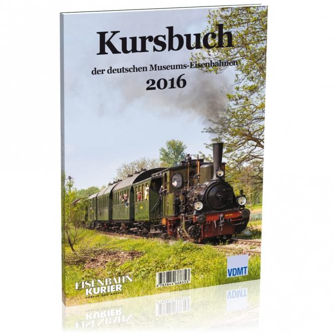 Kursbuch der deutschen Museumseisenbahnen - 2016