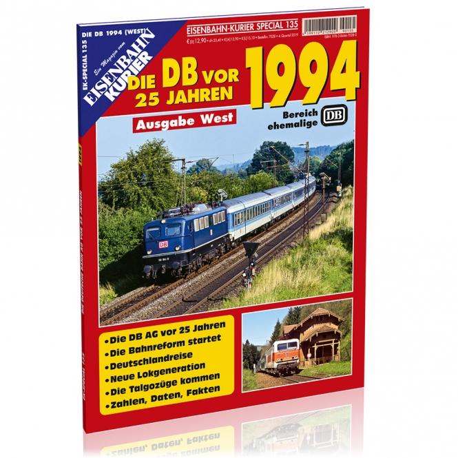 Die DB vor 25 Jahren - 1994 West