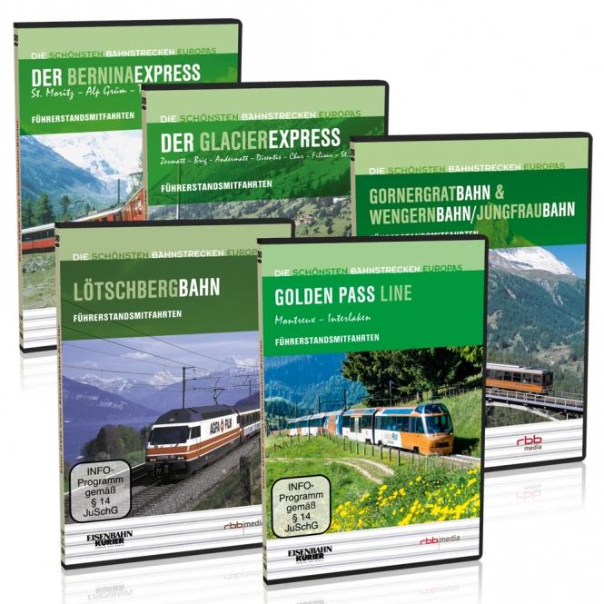 """DVD - Sparpaket """"Bahnland Schweiz"""""""