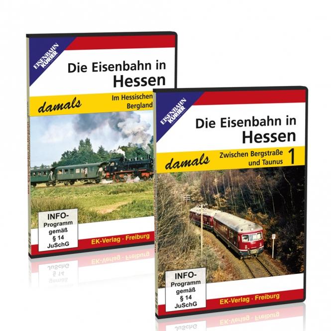 DVD-Paket: Die Eisenbahn in Hessen - damals