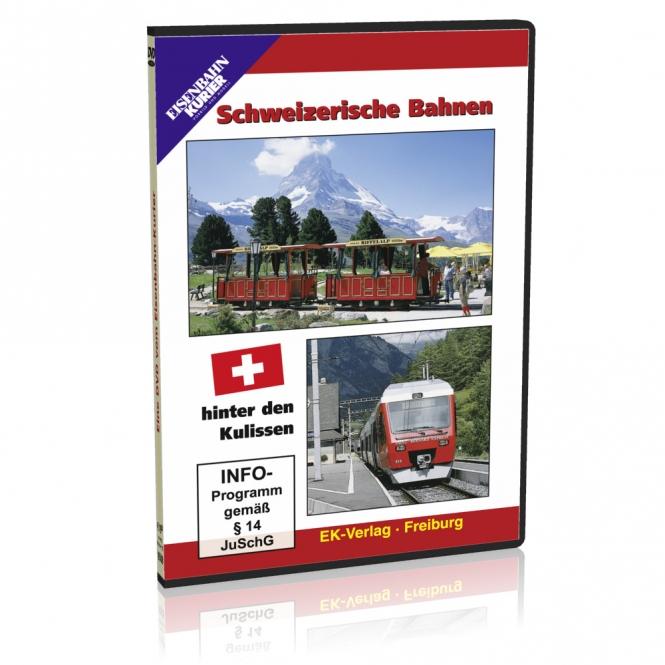 DVD - Schweizerische Bahnen