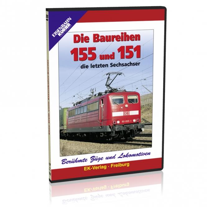 DVD - Die Baureihen 155 und  151