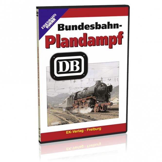 DVD - Bundesbahn-Plandampf DB