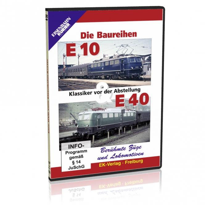 DVD - Die Baureihen E 10 und E 40