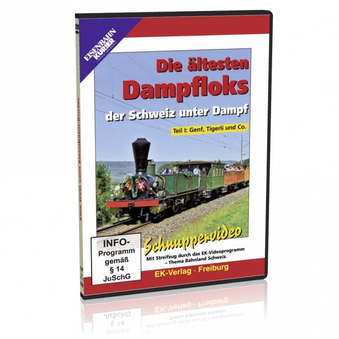 DVD - Die ältesten Dampfloks der Schweiz unter Dampf