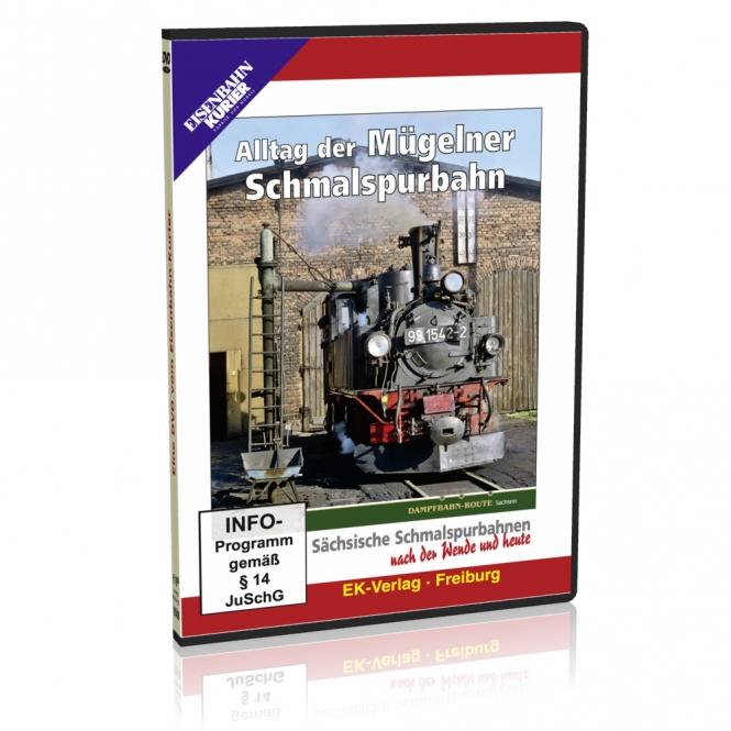 DVD - Alltag der Mügelner Schmalspurbahn