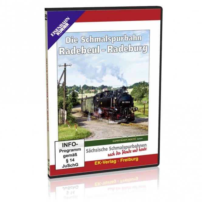 DVD - Die Schmalspurbahn Radebeul - Radeburg