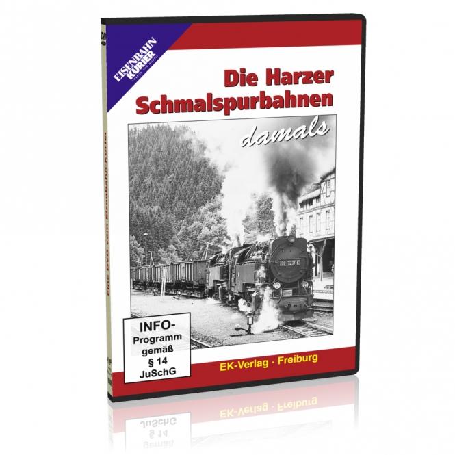 DVD - Die Harzer Schmalspurbahnen damals
