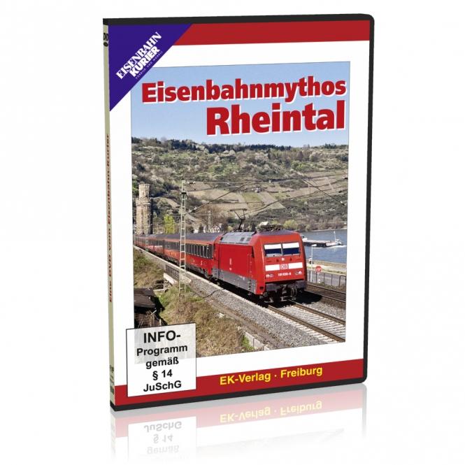 DVD - Eisenbahnmythos Rheintal