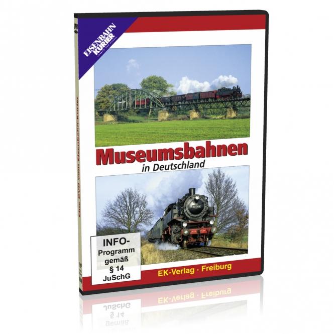 DVD - Museumsbahnen in Deutschland