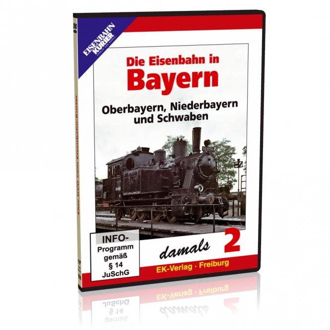 DVD - Die Eisenbahn in Bayern damals - 2
