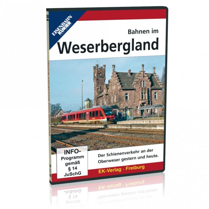 DVD - Bahnen im Weserbergland