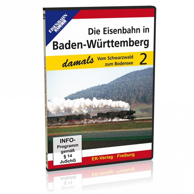 DVD - Die Eisenbahn in Baden-Württemberg damals - Teil 2