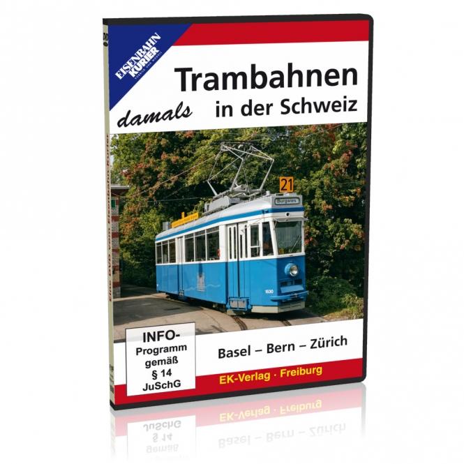 DVD - Trambahnen in der Schweiz damals