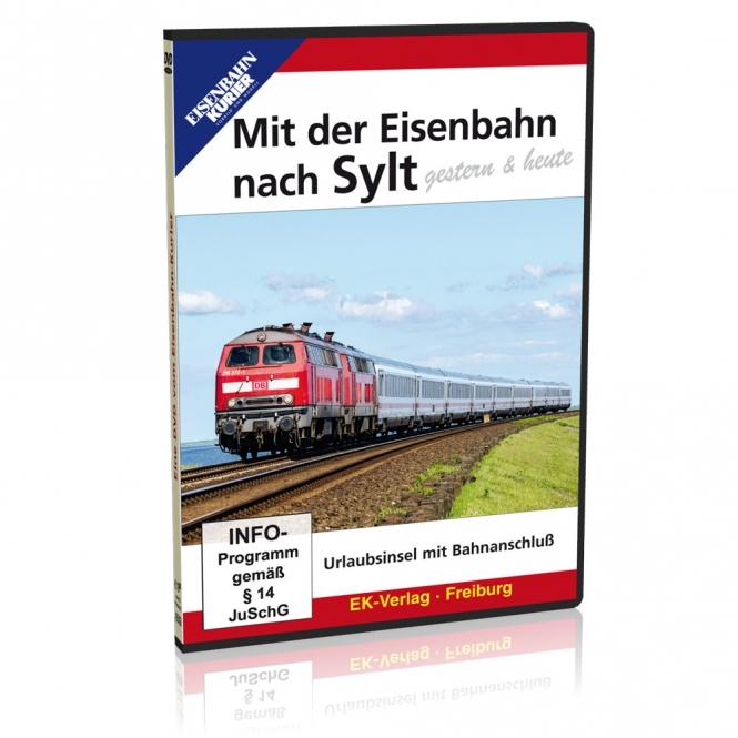 DVD - Mit der Eisenbahn nach Sylt - gestern & heute