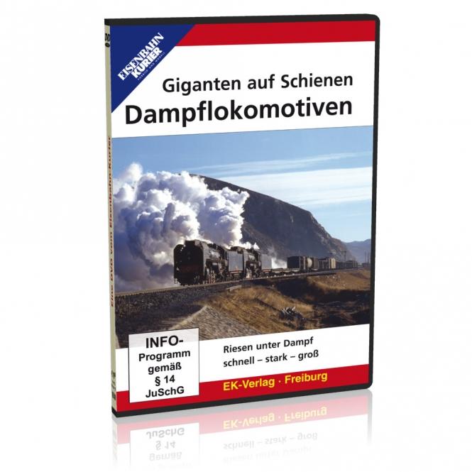 DVD - Giganten auf Schienen - Dampflokomotiven