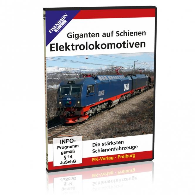 DVD - Giganten auf Schienen - Elektrolokomotiven
