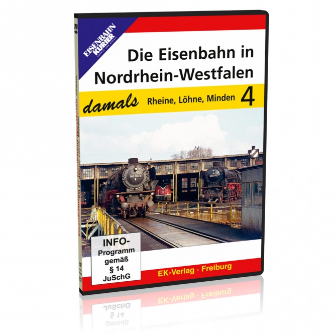 DVD - Die Eisenbahn in Nordrhein-Westfalen - damals, Teil 4