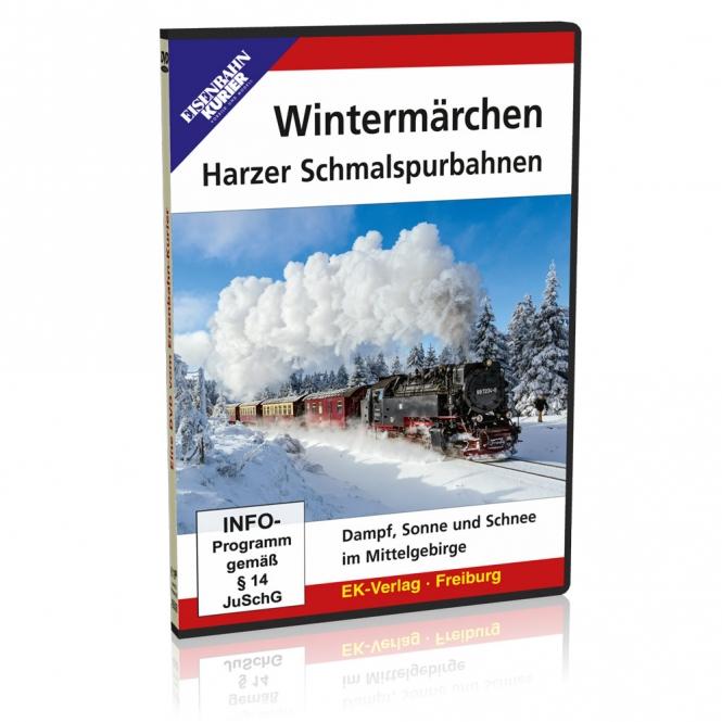 DVD - Wintermärchen - Harzer Schmalspurbahnen