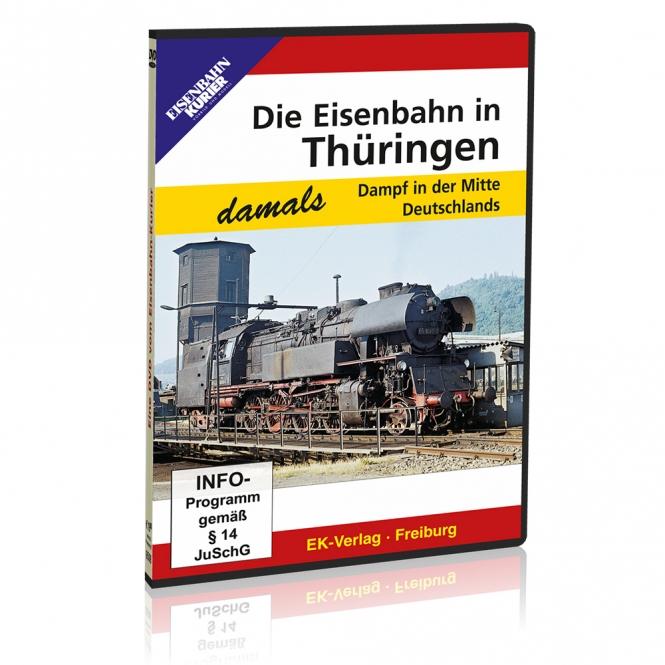 DVD - Die Eisenbahn in Thüringen - damals