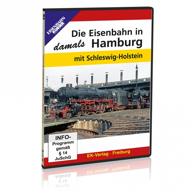 DVD - Die Eisenbahn in Hamburg - damals