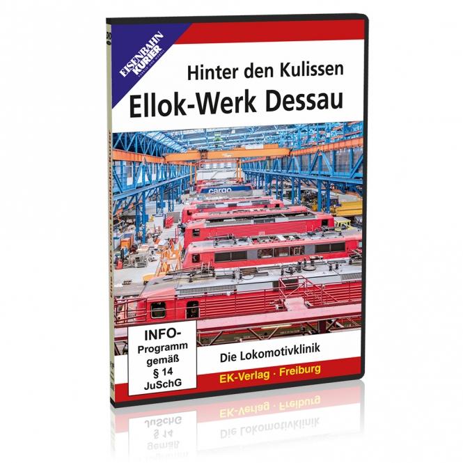DVD - Hinter den Kulissen: Ellok-Werk Dessau