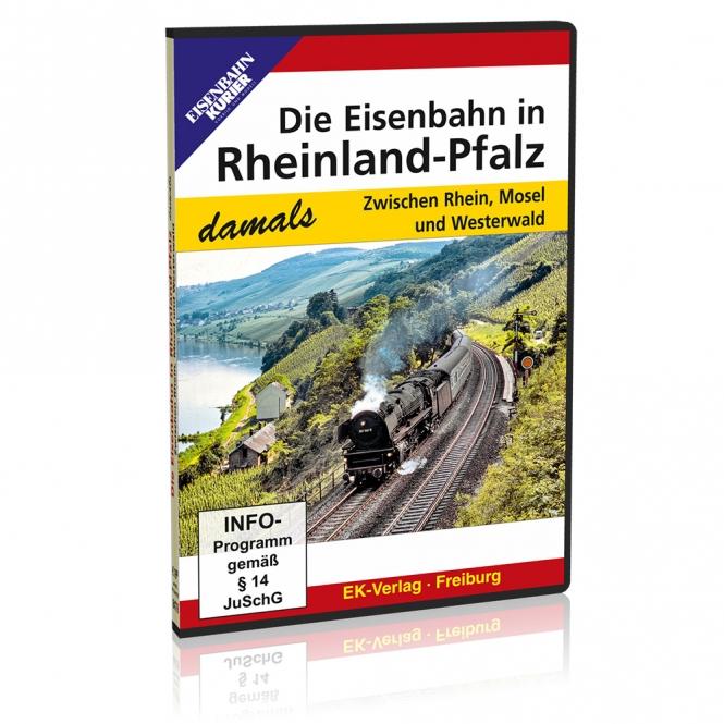 DVD - Die Eisenbahn in Rheinland-Pfalz damals