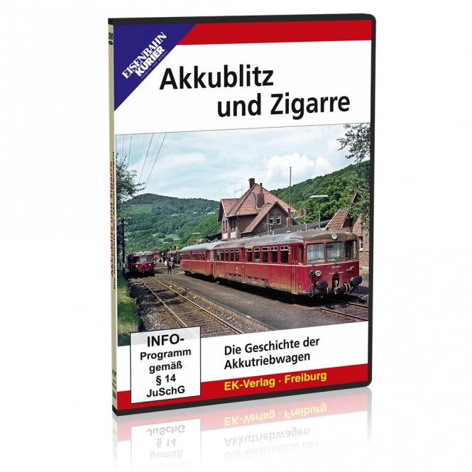 DVD - Akkublitz und Zigarre
