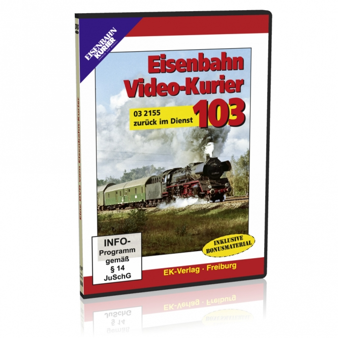 DVD - Eisenbahn Video-Kurier 103