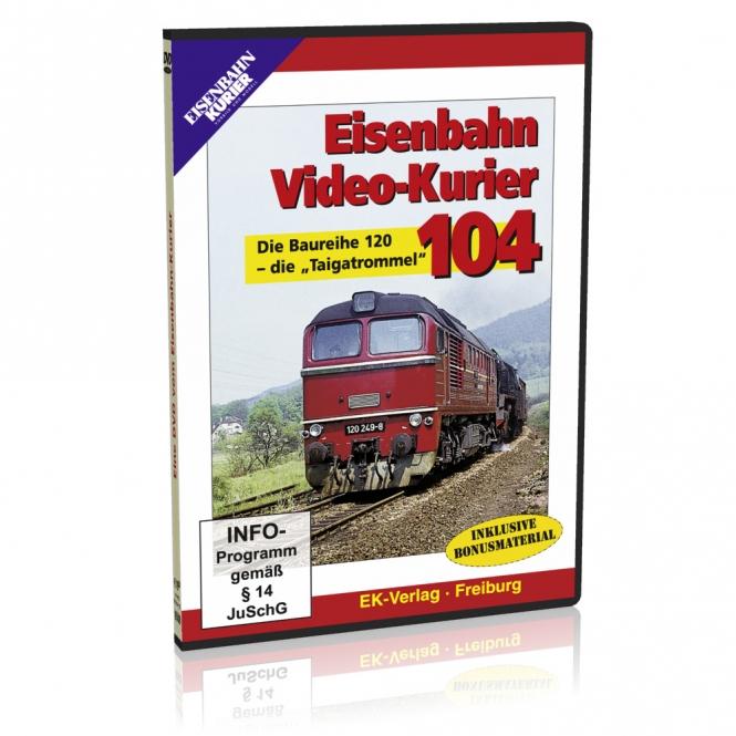 DVD - Eisenbahn Video-Kurier 104