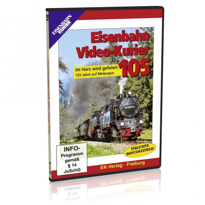 DVD - Eisenbahn Video-Kurier 105
