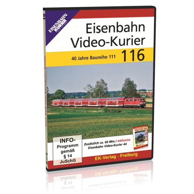 DVD - Eisenbahn Video-Kurier 116