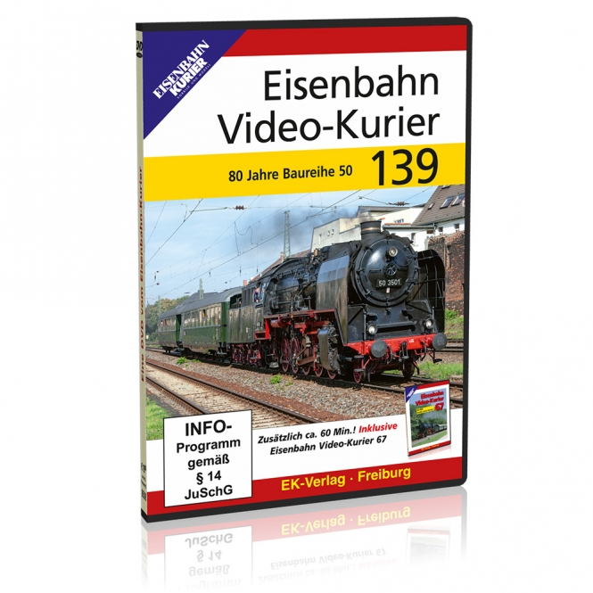 DVD - Eisenbahn Video-Kurier 139