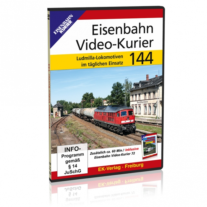 DVD - Eisenbahn Video-Kurier 144