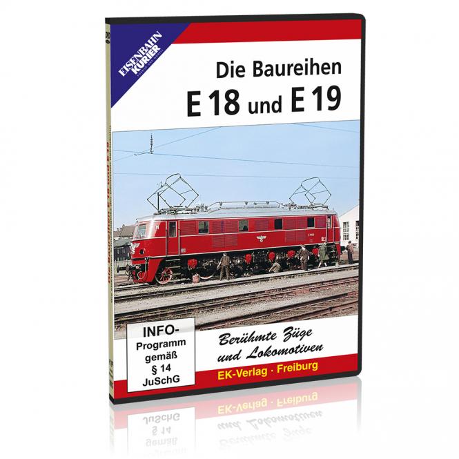 DVD - Baureihen E 18 und E 19