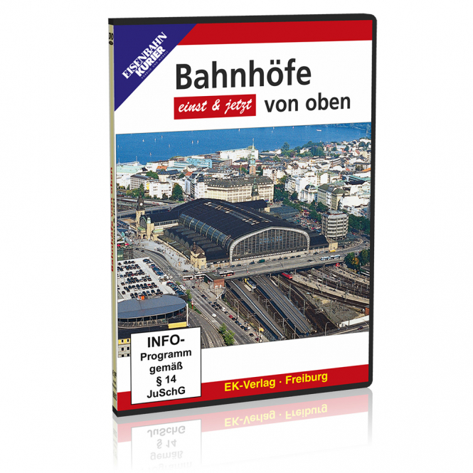 DVD - Bahnhöfe von oben