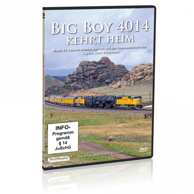 Blu-ray - Big Boy 4014 kehrt heim