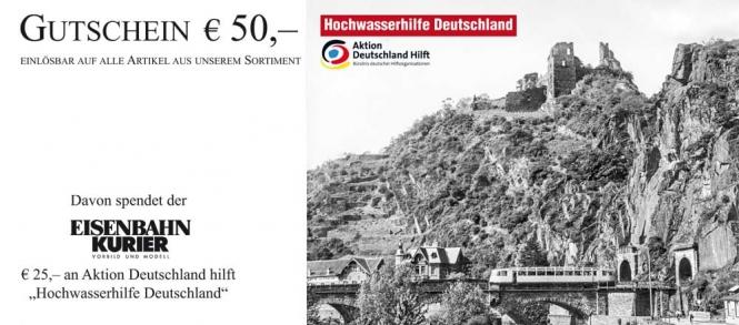 Hochwasserhilfe Deutschland