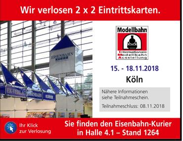 Internationale Modellbahn-Ausstellung 2018