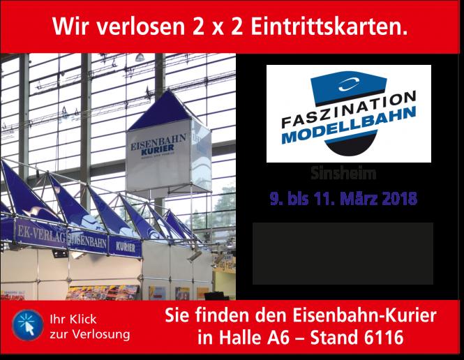 Faszination Modellbahn in Sinsheim