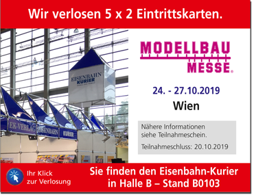 Modellbaumesse 2019 in Wien