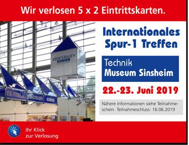 Internationales Spur-1 Treffen 2019